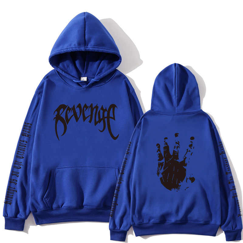 Xxxtentacion Revenge 까마귀 남성/여성 운동복 랩퍼 힙합 까마귀 스웨터 셔츠 남성/여성 까마귀 남성