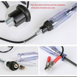 Image 4 - 6V 24V Bút Thử Điện Áp Cầu Chì Và Đèn Ổ Cắm Bút Thử Trong Suốt Mạch Bút Thử Cho Ô Tô Xe Máy động Cơ Phụ Kiện