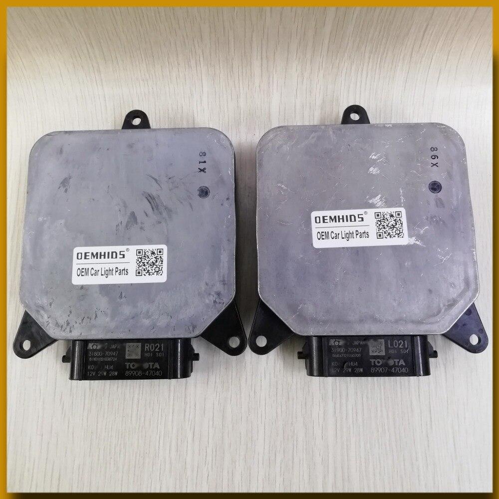 KOITO-TOYOTA-Prius-89908-47040 R021-89907-47040 L021