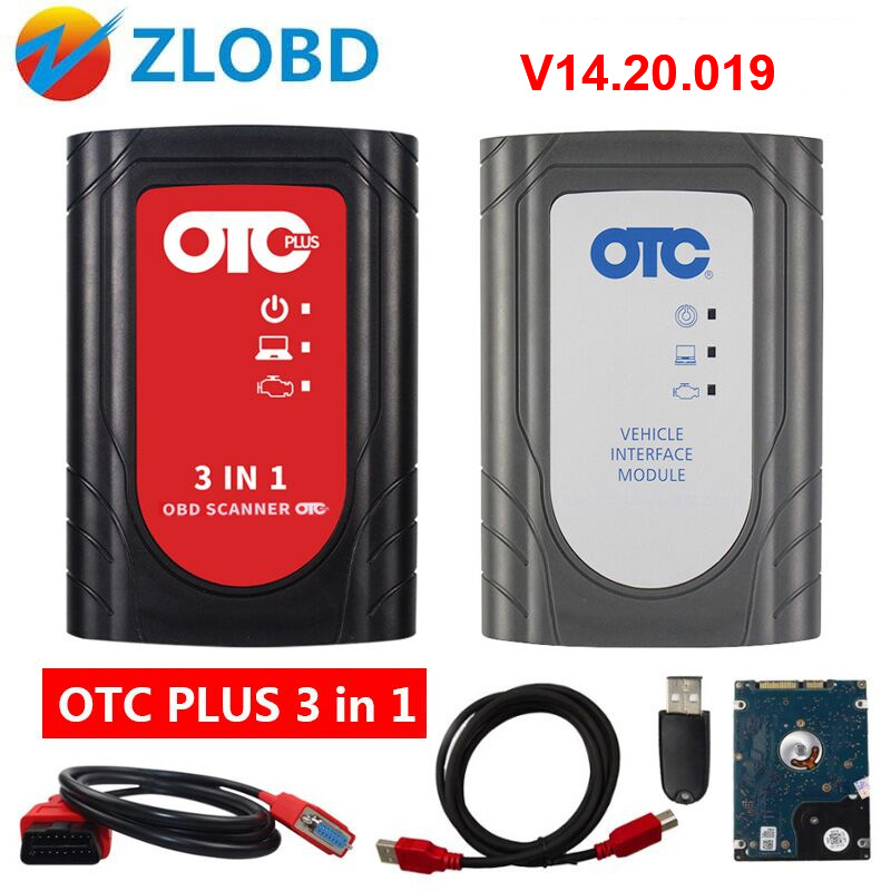 OTC Plus 3 in 1 GTS TIS3 OTC Scanner forToyoya IT3 V14.20.019 Global Techstream For Toyota OTC Plus Nissan consult volvo dice-in Car Diagnostic Cables & Connectors from Automobiles & Motorcycles    1