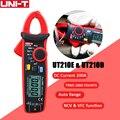 UNI-T UT210E Цифровые токовые клещи True RMS мини AC/DC напряжение тока Авто Диапазон VFC емкость Бесконтактный мультиметр тестер