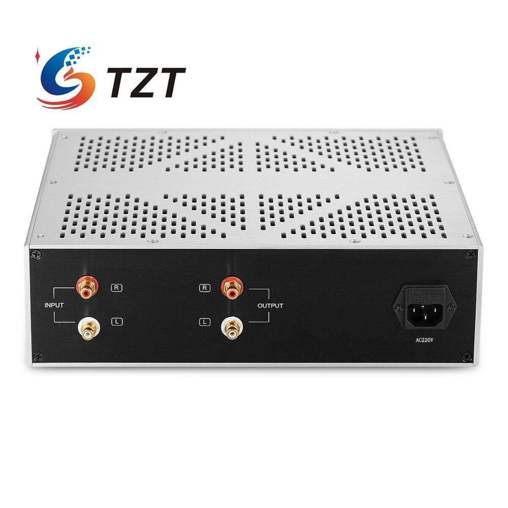 Image 5 - TZT F200 Vacuum Tube Preamplifier Stereo HiFi Audio Tube Preamplifier Preamp Replacement For JP200Amplifier   -