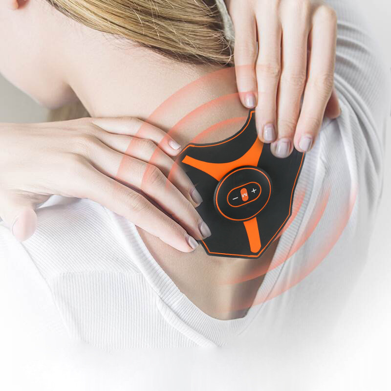 New Abdominal Muscle Trainer EMS Fitness Equipment Training Back Shoulder Exercise Electric Simulators Massage Press Workout image
