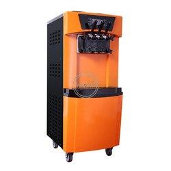 Promocja sprzedaży handlowa automatyczna maszyna do lodów trójkolorowa pionowa maszyna do produkcji lodów