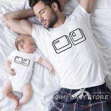 Camiseta ajustável meia-taça infantil, camiseta casual masculina, filha, pai, garotas, bebês, casual body camiseta aparência familiar