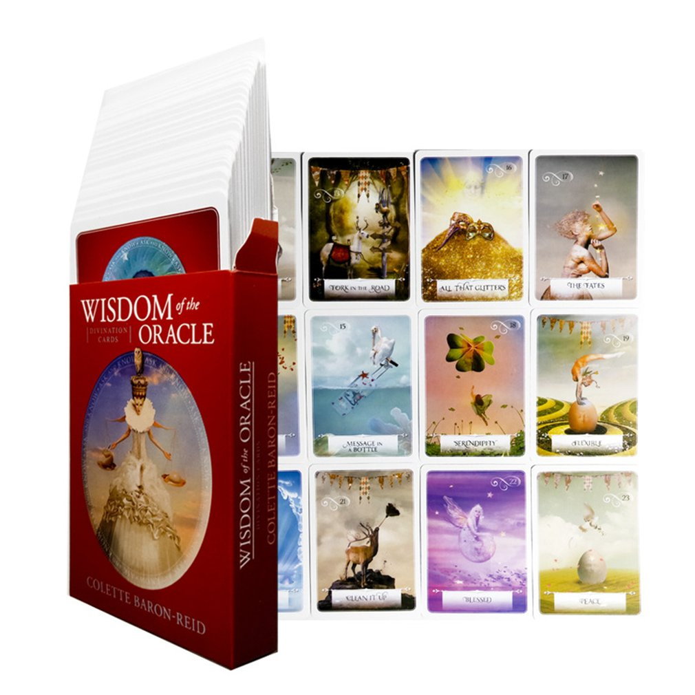 God Of Wisdom English Beauty Oracle Cards Deck English Board Game Oracle Card Divination Fate Board Game