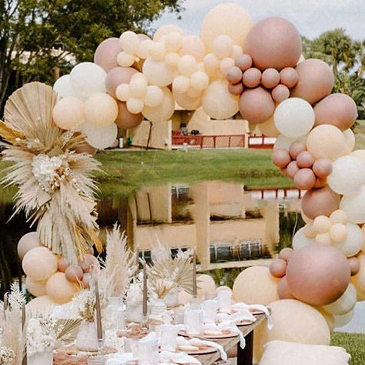 Macaron Pink Balloon Garland Arch Kit Wedding Birthday Party Decoration Kids Globos Rose Gold Confetti Latex Ballon Baby Shower 6