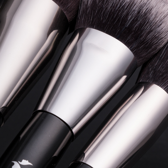 BEILI Luxury Black 2-40 pcs Makeup Brushes Set Professional Natural hair Powder Foundation Eyeshadow pinceaux de maquillage 4
