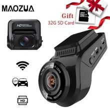 كاميرا عدادات السيارة 2160P 4K الترا HD مع 1080P كاميرا خلفية واي فاي لتحديد المواقع المسجل ADAS المزدوج عدسة داشكام جهاز تسجيل فيديو رقمي للسيارات للرؤية الليلية 32G بطاقة SD