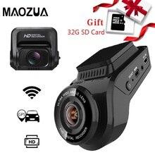 Kamera do deski rozdzielczej samochodu 2160P 4K Ultra HD z tylną kamerą 1080P WiFi rejestrator GPS ADAS podwójny obiektyw Dashcam wideorejestrator samochodowy Night Vision + karta SD 32G