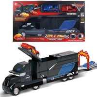Disney Pixar 3 Saetta Mcqueen Jackson Tempesta Cruise Opaco Mark Zio Camion 1:55 In Metallo Die Cast Modello di Auto Ragazzo Giocattoli