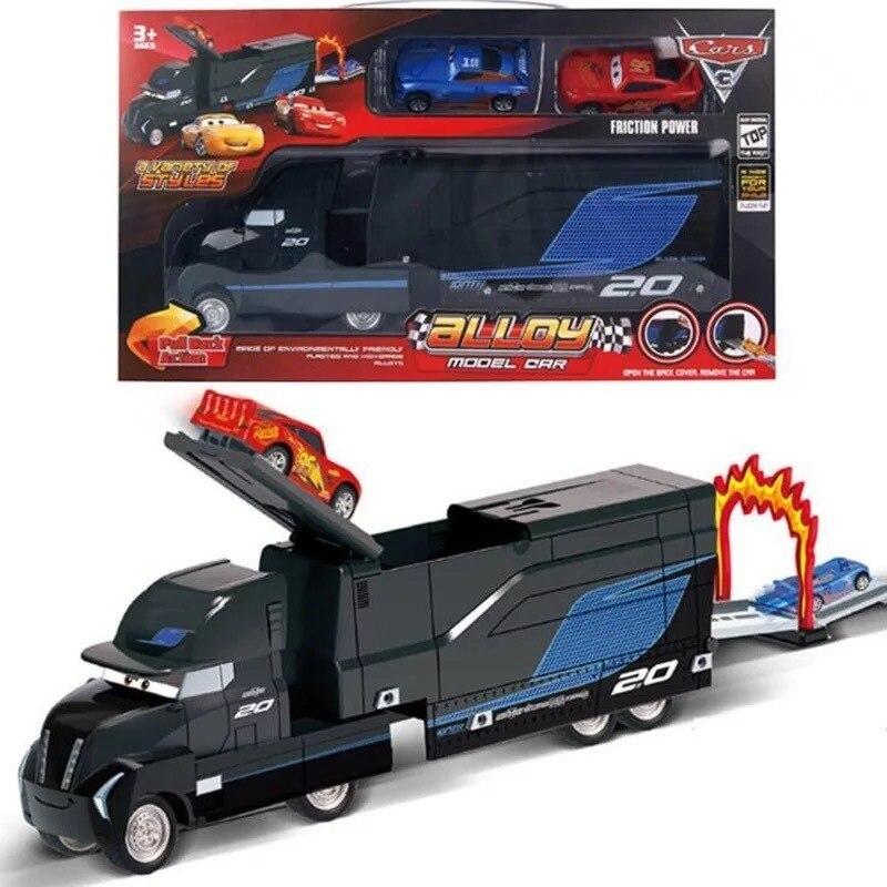 Disney Pixar 3 foudre Mcqueen Jackson tempête croisière Matt Mark oncle camion 1:55 métal moulé sous pression voiture modèle garçon jouets