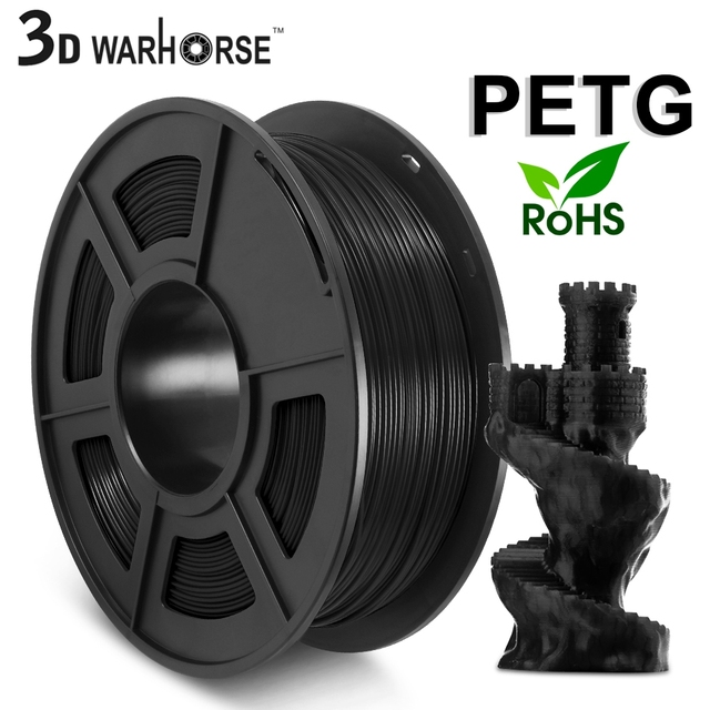 Translucence PETG Filament For 3D Printer 1.75MM Good Toughness PETG Filament 1KG With Spool Lampshade Consumable Material