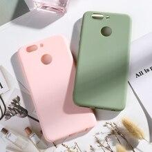 Candy Color Case For Huawei Nova 2 Plus Silicone Soft TPU Phone on 2S Back Cover Nova2 S Capa