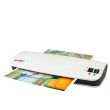A4 laminating machine photo laminating machine household office gluing machine hot and cold document laminating machine