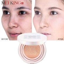 MEIKING Sunscreen Air Cushion BB CC Cream Glycerine Brighten Concealer Moisturizing Face Cream Foundation Makeup Bare Whitening