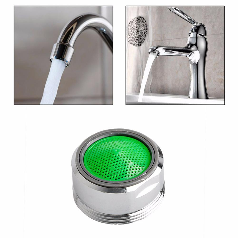 Water Saving Water Faucet Filter Tip Filtrator Bubbler With 24mm/0.94in Refined Copper Shell Kitchen Bathroom Accessories