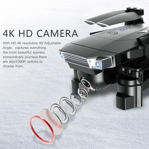 Image 2 - SG901 Drone 4K HD ESC 50X Zoom, двойная камера, оптический поток, Wi Fi FPV, складные селфи дроны, профессиональный Квадрокоптер Follow Me RC