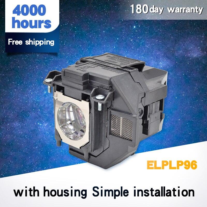 Где купить Лампа проектора для ELPLP96 PowerLite домашнего кинотеатра EB-S41 EH-TW5650 EH-TW650 EB-U05 EB-X41 EB-W05 WXGA 3300 EB-W05