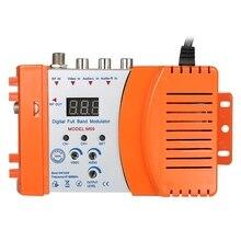 ЕС штекер, модулятор высокой производительности компактный РЧ модулятор Аудио Видео ТВ конвертер Rhf Uhf Усилитель сигнала Ac230V nstrumments