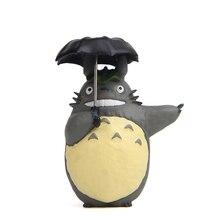 Doll-Umbrella Action-Figure Delivery Totoro Plastic-Model Pvc Cat Resin Kiki Neighbor