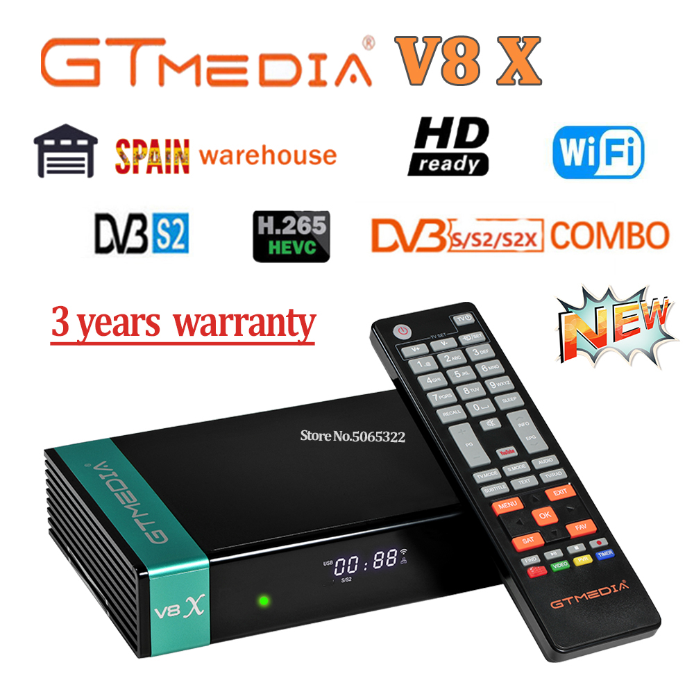 Gt media V8 nova Gtmedia V8 Nova V8X power durch fresat V9 super satellite empfänger mit bulit-in wifi 1080p