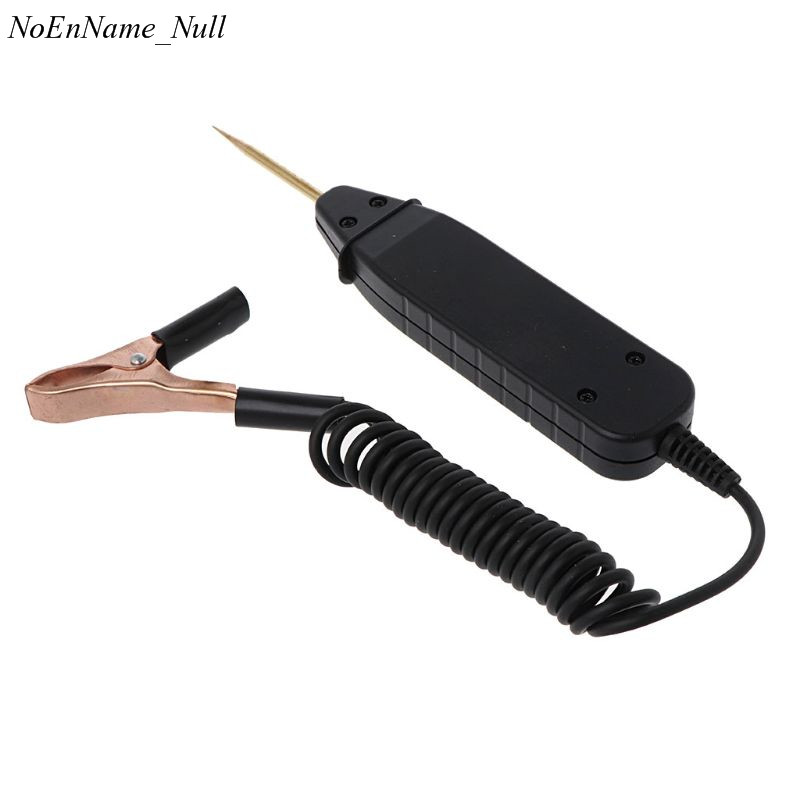 1.65m Spring Line Car Digital LCD Electric Voltage Test Pen Probe Detector Tester With LED Light for Auto Car Testing Tool