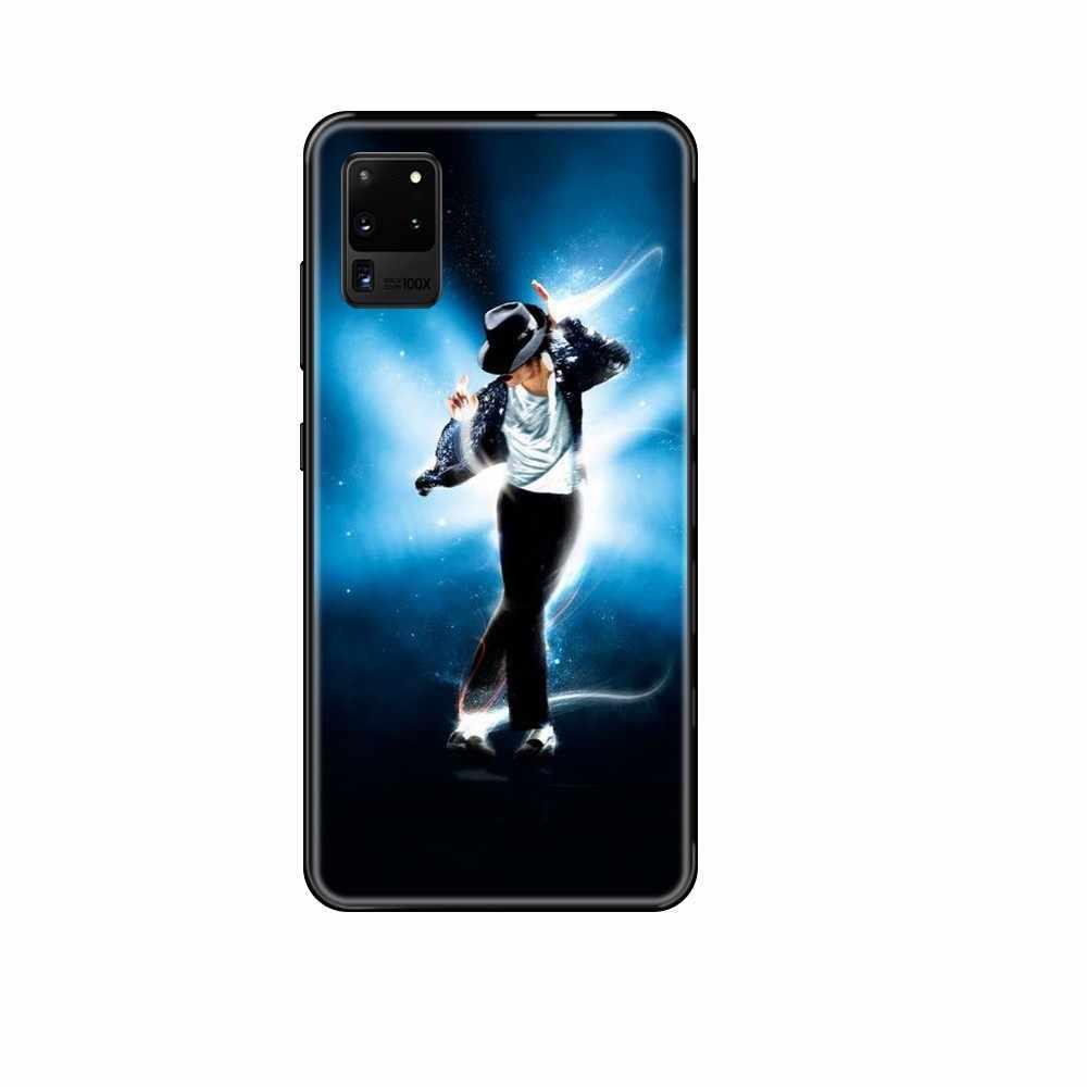 MJ Michael Jackson Dance Beat It tpu luxury prime coque black Phone case For Samsung Galaxy S 3 4 5 6 7 8 9 10 Plus Lite Edge