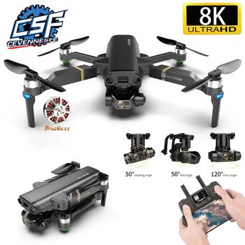 Nowy dron 6k Gps 5g Wifi 3 osi kamera kardanowa bezszczotkowy silnik TF karta latająca 25 minut odległość Rc 1 2km zdalnie sterowany Quadcopter tanie i dobre opinie 3-osiowy Gimbal Z tworzywa sztucznego 3*aaa CN (pochodzenie) Wewnątrz i na zewnątrz 8K UHD 6K UHD 1200m Mode2 4 kanały