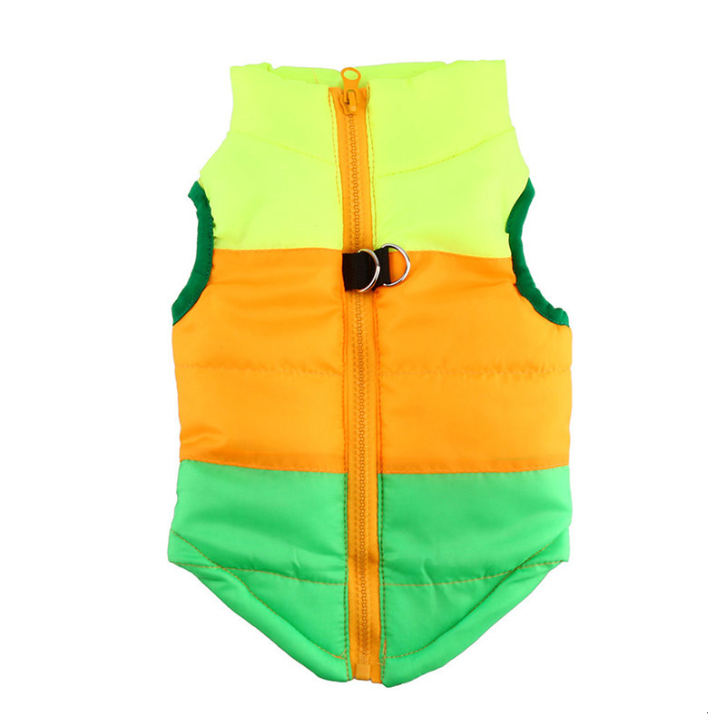 Waterproof Dog Jacket and Warm Pet Clothing with Zipper Design 27