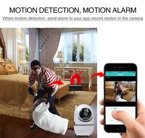 Image 5 - Ev güvenlik 720P bebek izleme monitörü Wifi bebek izleme monitörü kamera gece görüş ile iki yönlü ses Video dadı bebek telefonu kamera kablosuz