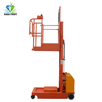 Full electric Whole-electromotion Aerial Order Picker Lift Platform
