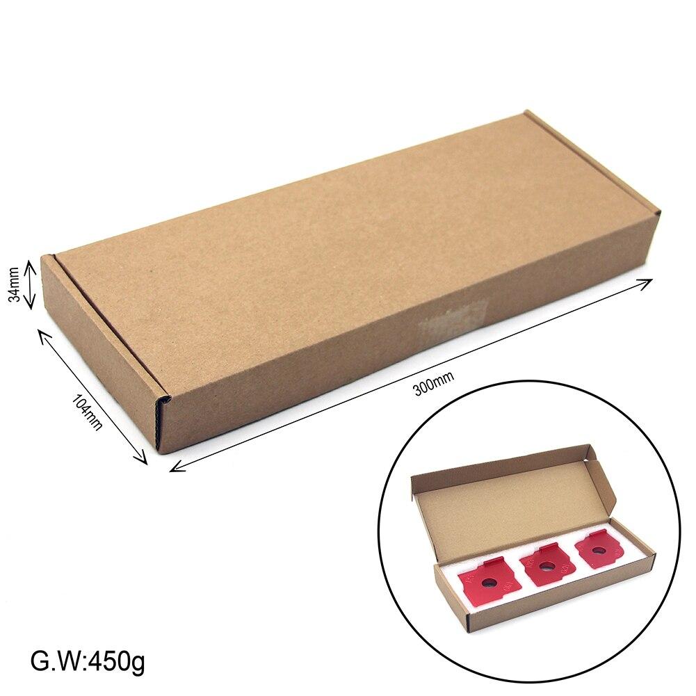 12Pcs Wood Panel Radius Quick-Jig Router Table Bits Jig Corner Templates Kit HOT
