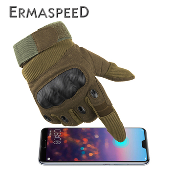 Touch Screen Motorcycle Gloves Winter Full Finger Dirt Bike Racing Riding Gloves Leather Enduro Off Road Motocross Gloves 1