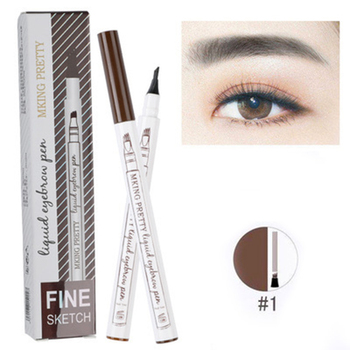 Hot Color Liquid Eyebrow Pencil Extremely Fine-grained Waterproof Not Fade Eyebrow Pencil Makeup Comestics Tools TSLM2 image
