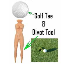 10 Pcs Golf Tees Plastic Tees Beauty Women Body Golf Ball Na