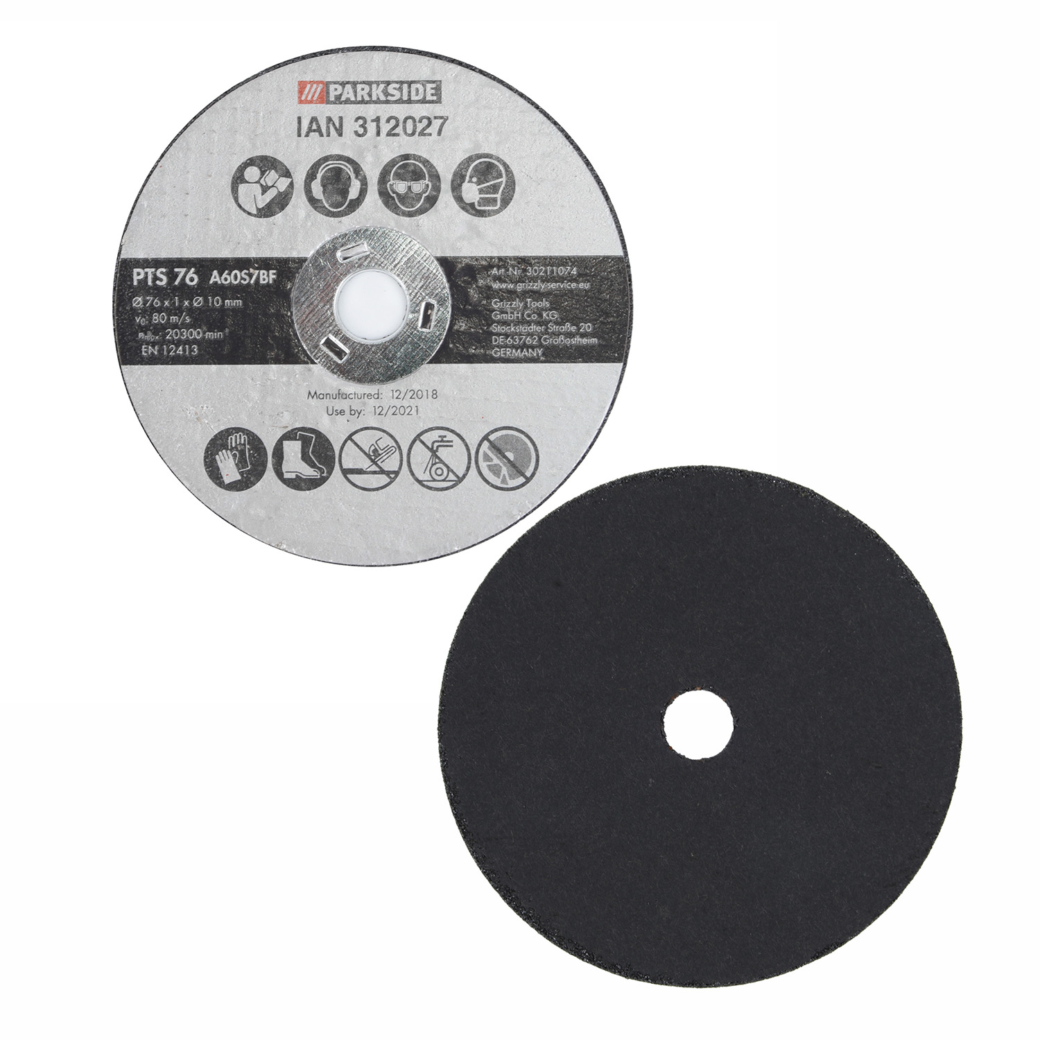 20 Pcs 75mm/3Resin Cutting Disc Metal Cutting Off Wheel Blade For Angle Grinder High Quality New Durable