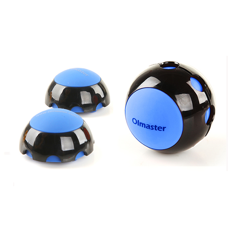 OImaster 2PCS Laptop <font><b>Stand</b></font> for 13.3 14.1 15.6 <font><b>17</b></font> inch Macbook <font><b>Notebook</b></font> Cooling Ball Heat Dissipation Skidproof Cooler image