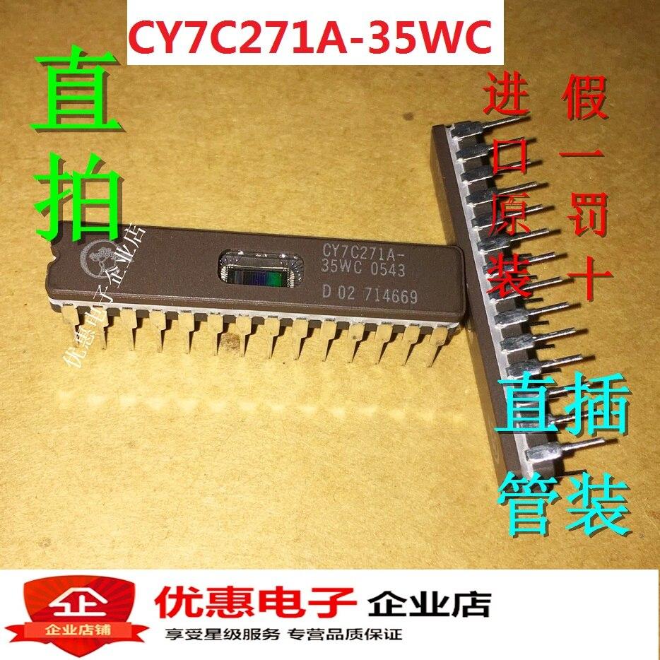 10PCS/LOT CY7C271A-35WC CY7C271-35WC CDIP-28 new original