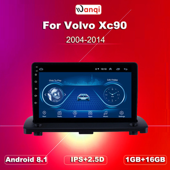 wan qi 9 inch Android 8.1 Car Radio GPS Navigation Multimedia Player For Volvo XC90 2004 2005 2006 2007 2008-2014 Stereo image
