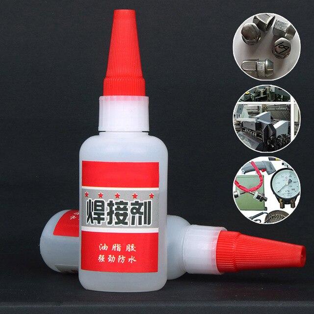 Colle de soudage universelle pour réparation de pneus en plastique, bois, métal et caoutchouc Agent de soudage de colle JS22
