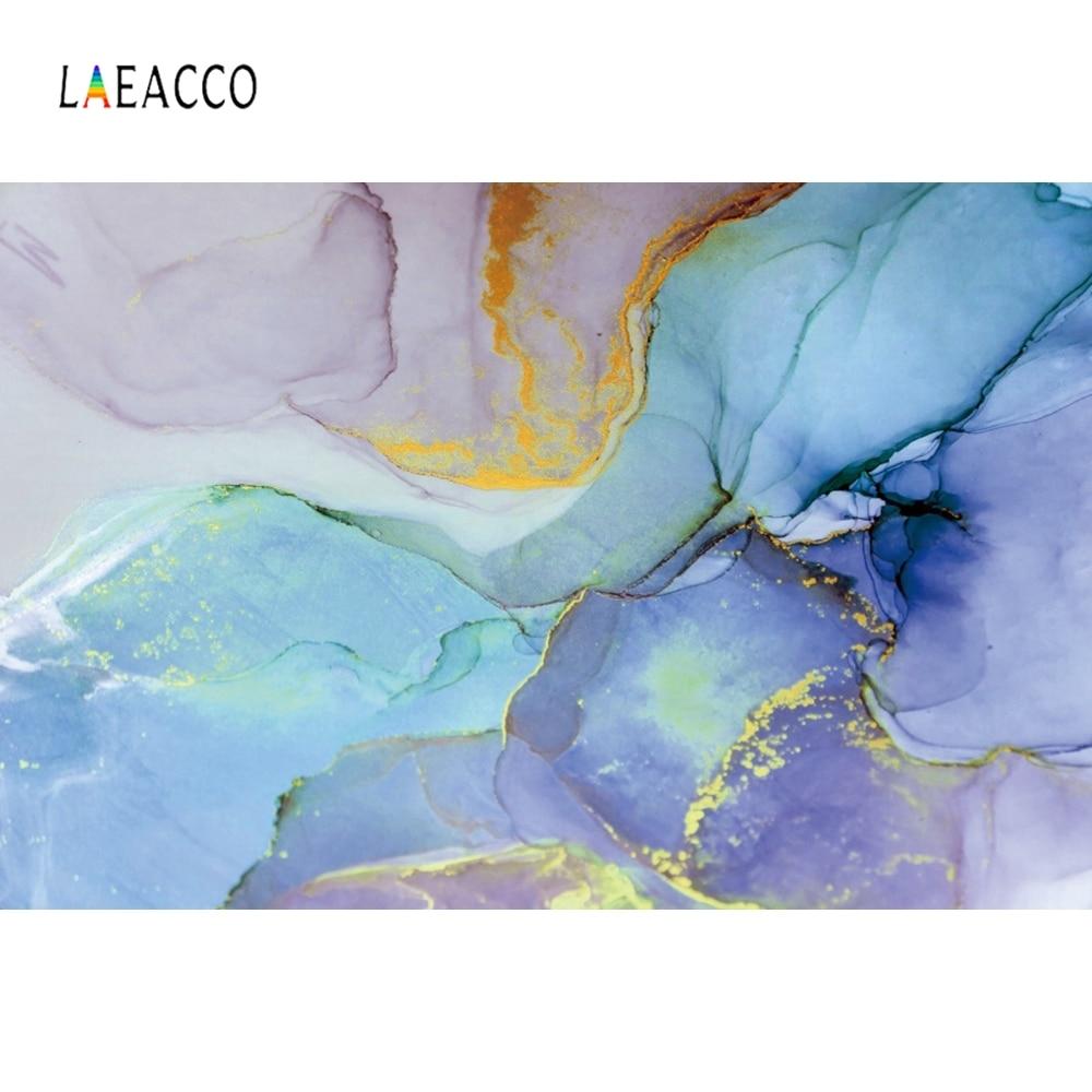 Laeacco Mable Photophone kolorowy malowany fotografia tła fotografia tła Vintage Baby Shower Photozone urodziny Photocall dziecko