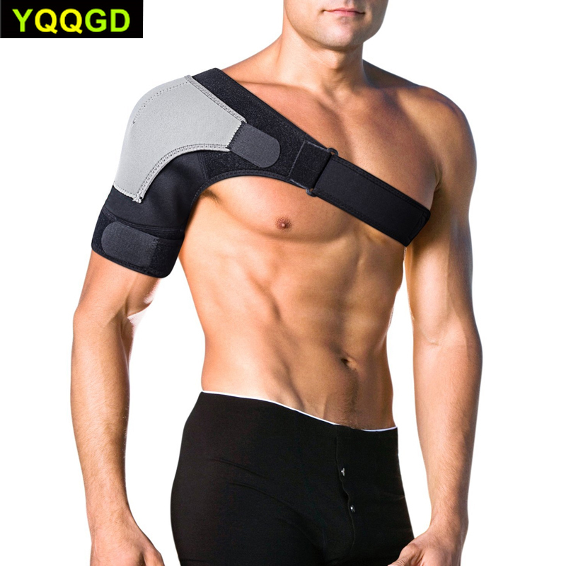1Pcs Shoulder Brace Adjustable Shoulder Support With Pressure Pad For Injury Prevention, Sprain,Soreness,Tendinitis