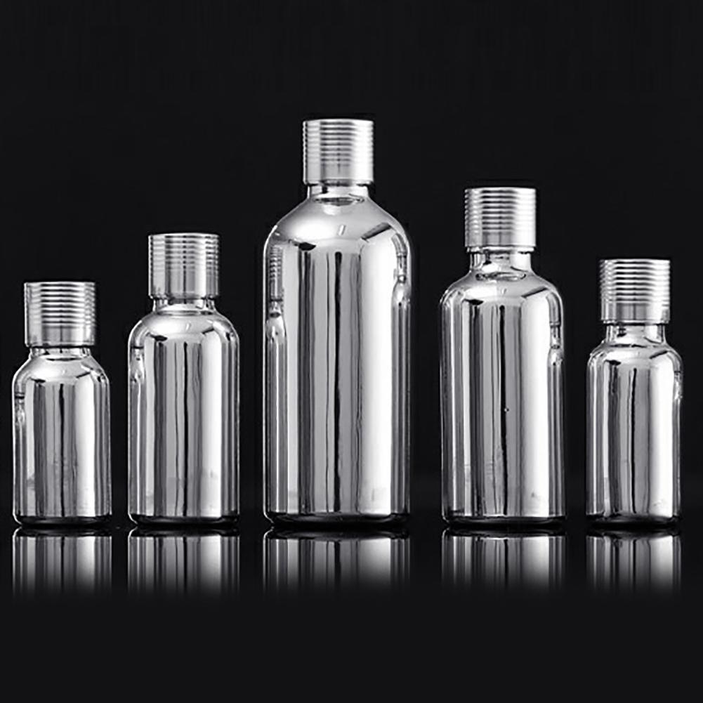 5/15/30/50ml Portable Glass Stopper Empty Perfume Essential Oils Bottle Refillable Bottle Empty Travel Packing Bottles