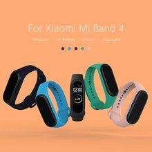 NILLKIN For Xiaomi Mi Band 4 Strap Silicone Wrist Strap For Xiaomi Mi Band 4 global Bracelet Replacement for xiaomi band 4 smart(China)
