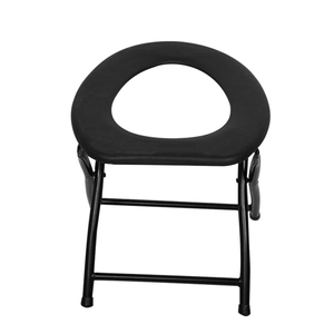 Image 3 - Portable Strengthened Foldable Toilet Chair Travel Camping Climbing Fishing Mate Chair Outdoor Activity Accessories