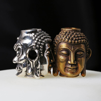 China Journey To The West Buddha Knife Pendant Handmade Paracord Bead DIY Creative EDC Items