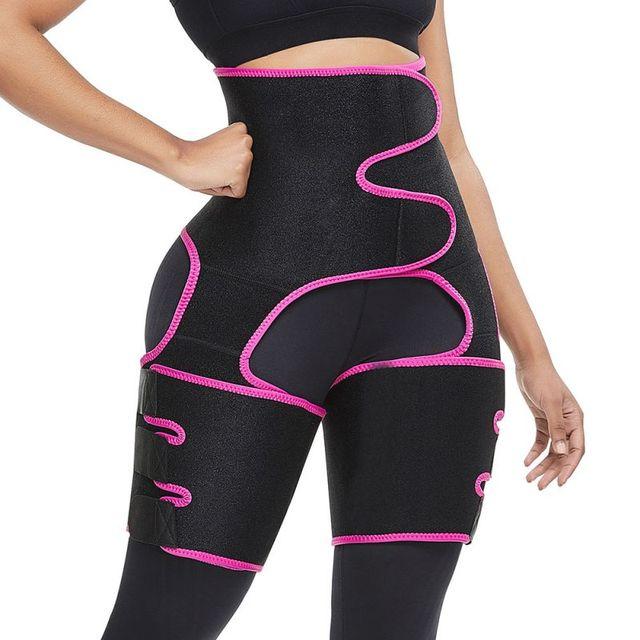 Sweaty Waist Belt Widening Yoga Fat Burning Belly Belt Running Leggings Stuffy Sweat Heat  Body Shaper Slim Shapewear 1