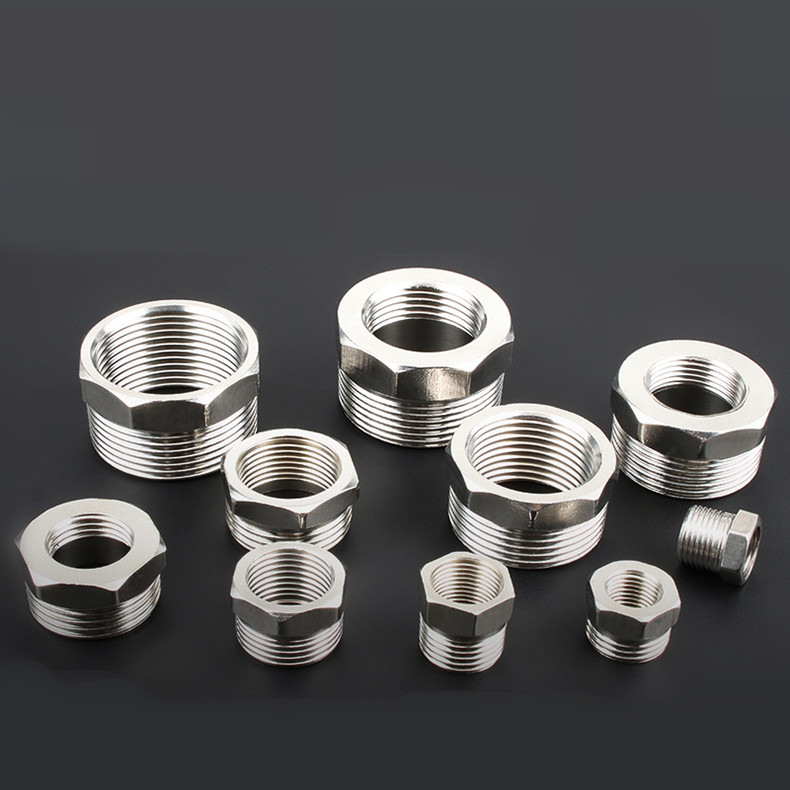 304 Stainless Steel Make Up  Adapter Fitting Pipe Fittings 1/4'' 1/2''   DN8 DN10 DN15 DN20