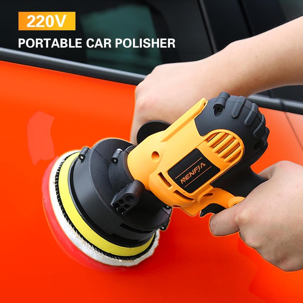 9 IN 1 Electric Car Polisher Sander 220V 600-3700rpm 700W Polishing Machine Set